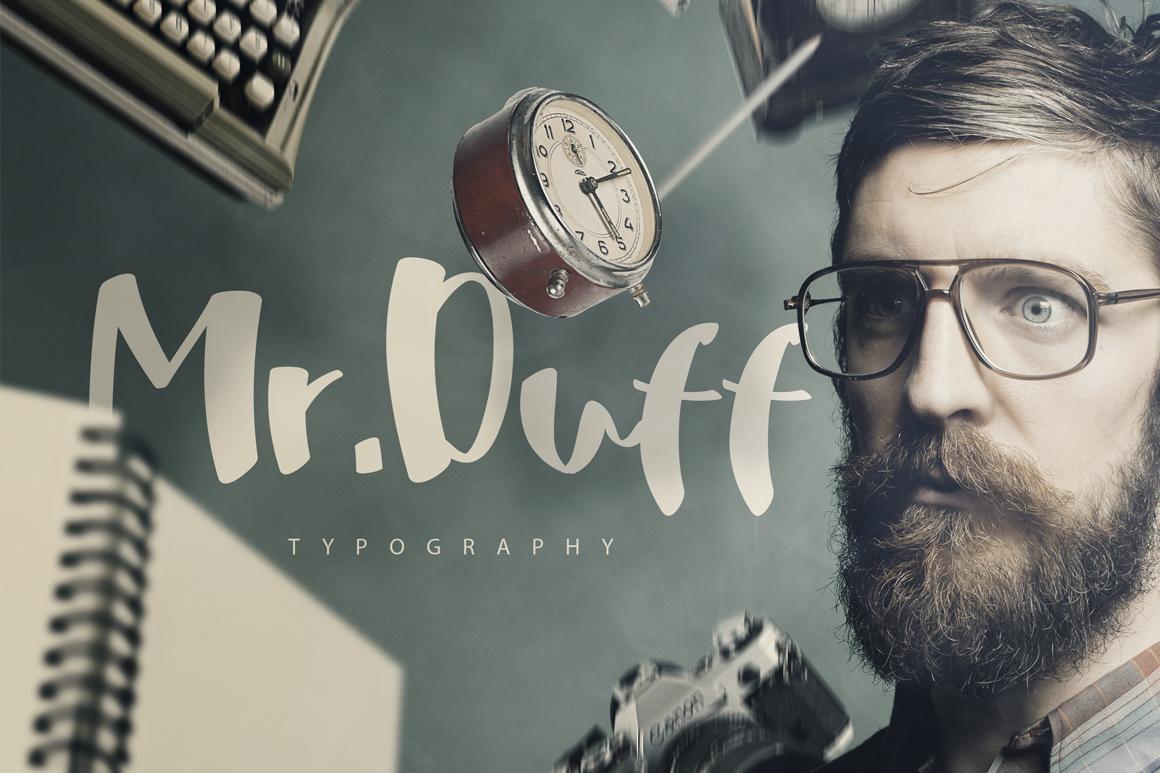 Mr. Duff Typeface  example image 1