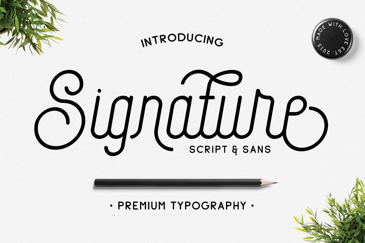 Signature example image 1