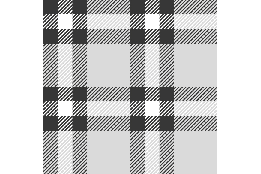 Set of 12 seamless vector tartan backgrounds.  example image 3
