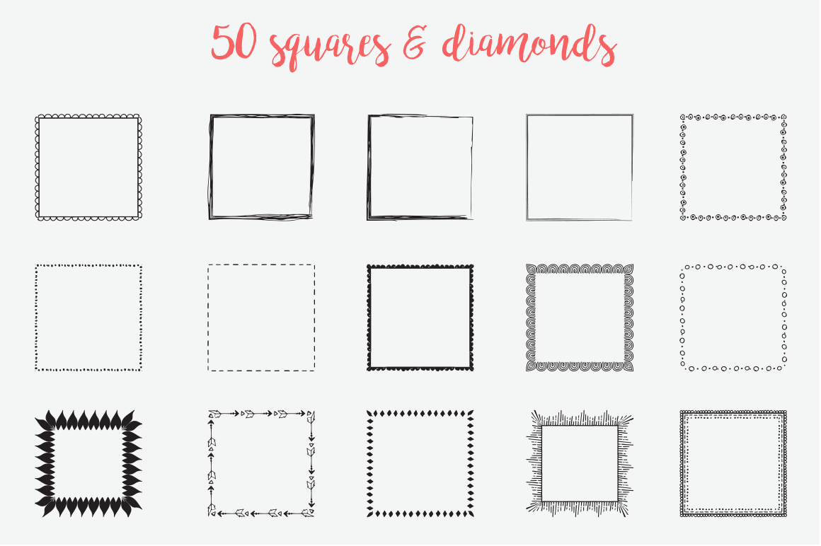 The Pretty Freakin' Big Hand Drawn Logo Design Kit example image 12