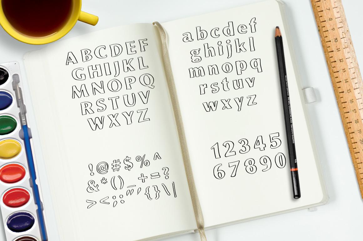 Font No.10, No.11 and No.12 example image 8