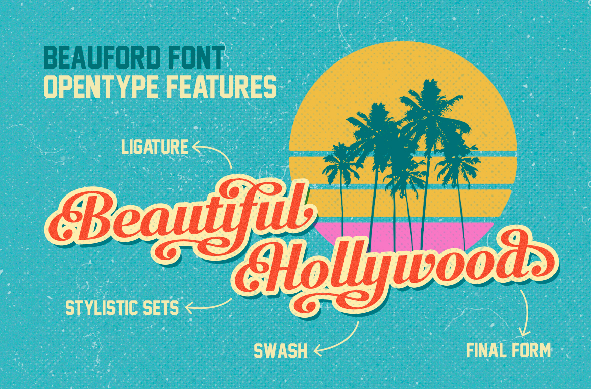 Beauford Font  example image 2