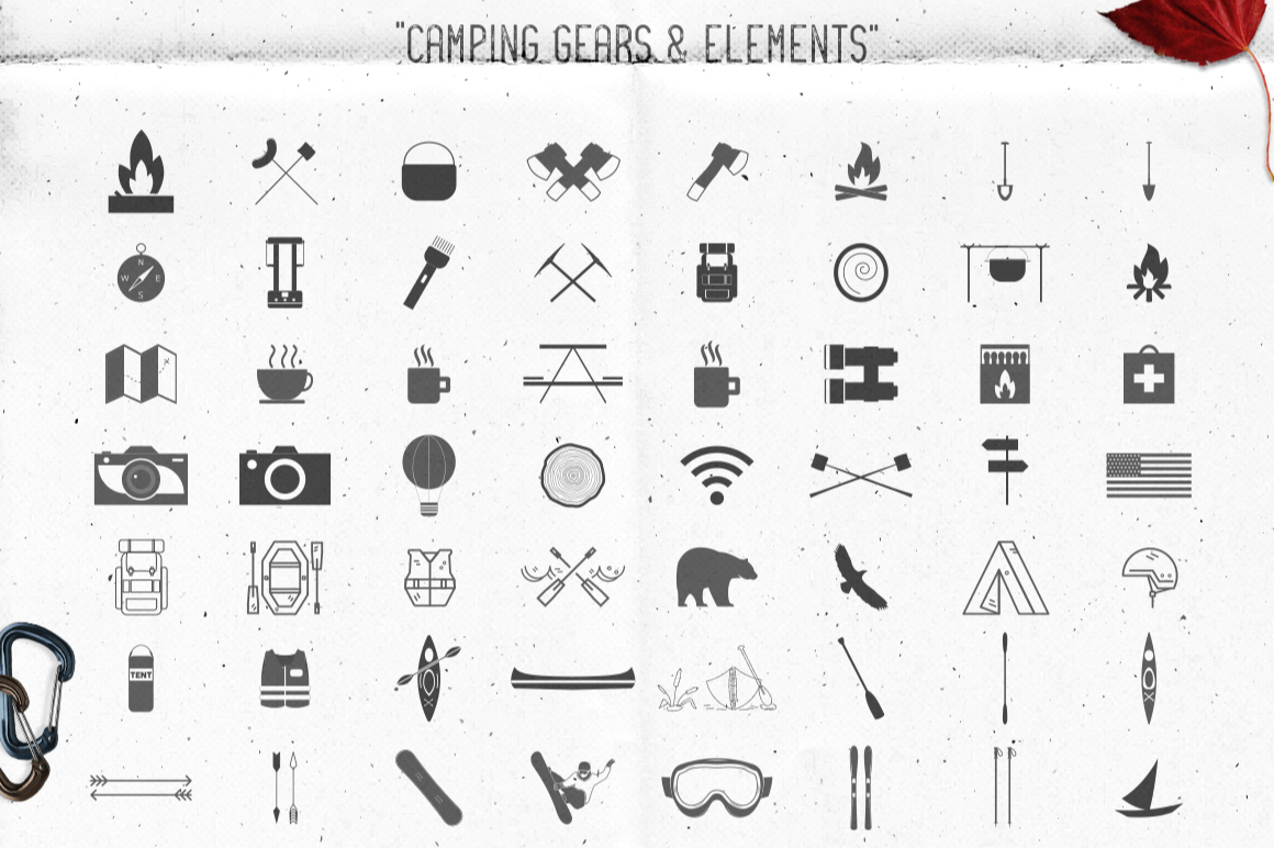 Logo Creation Kit - Camping Edition example image 7