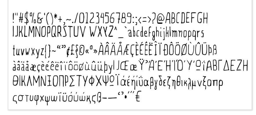 Chapman Handwritten Font example image 2
