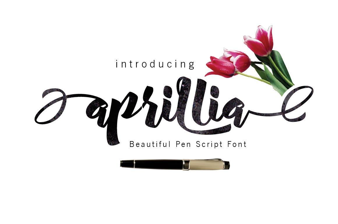 Aprillia Script example image 1