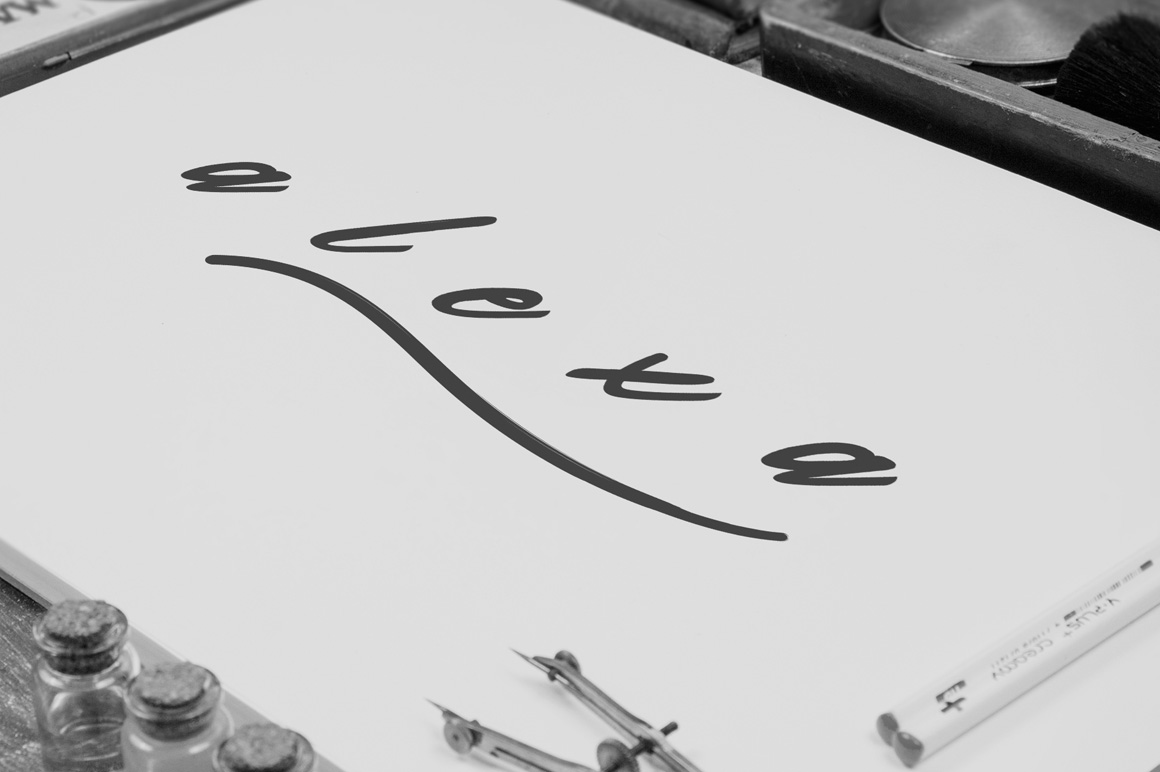 Valdemar Typeface + Swashes example image 8