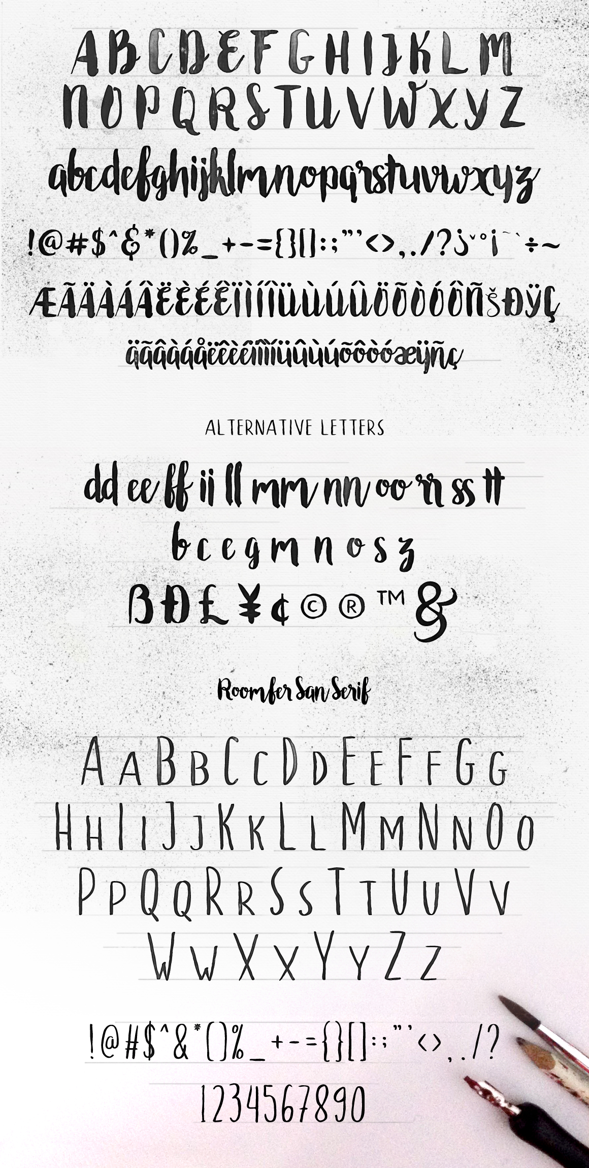 Roomfer font + Style Photoshop example image 3