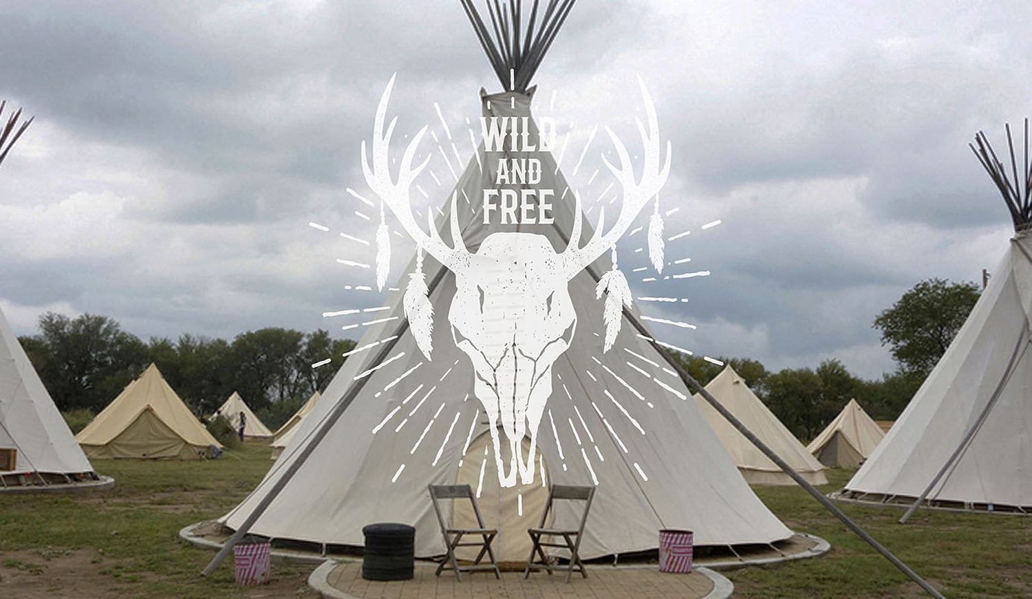 Wild at Heart. Native American Vintage Badges. Vol.2 example image 10
