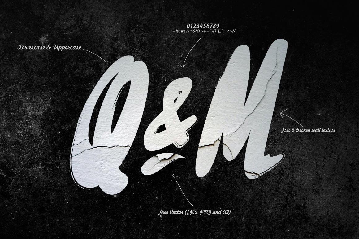 Rissa Typeface + Swashes example image 5
