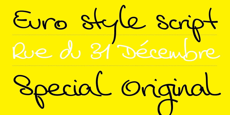 Cedi Typeface layout 1