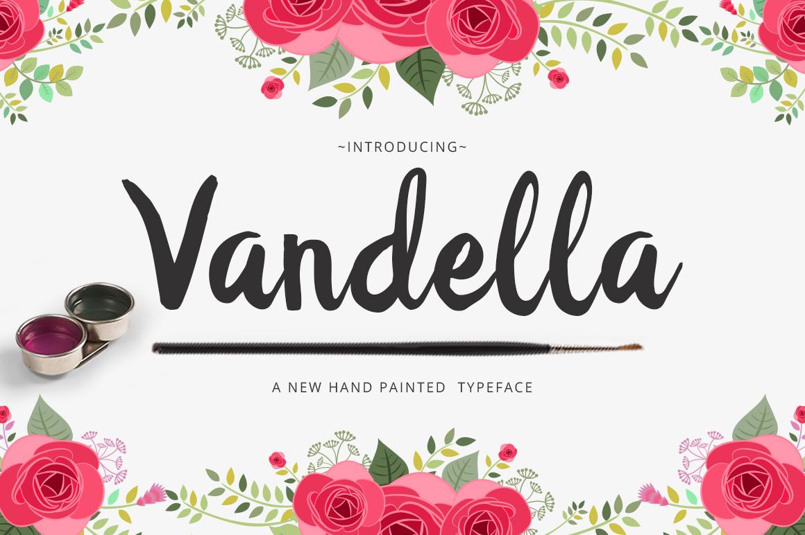Vandella Script example image 6