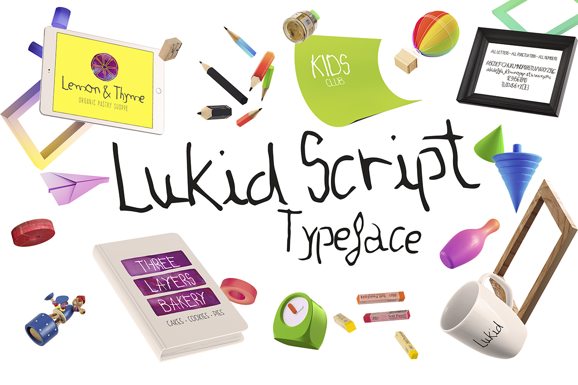 Lukid Typeface example image 1