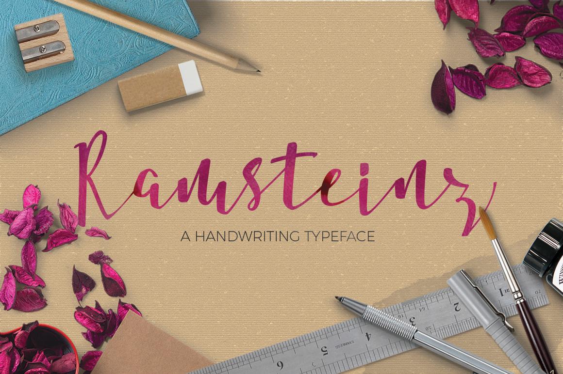 Ramsteinz Typeface example image 1