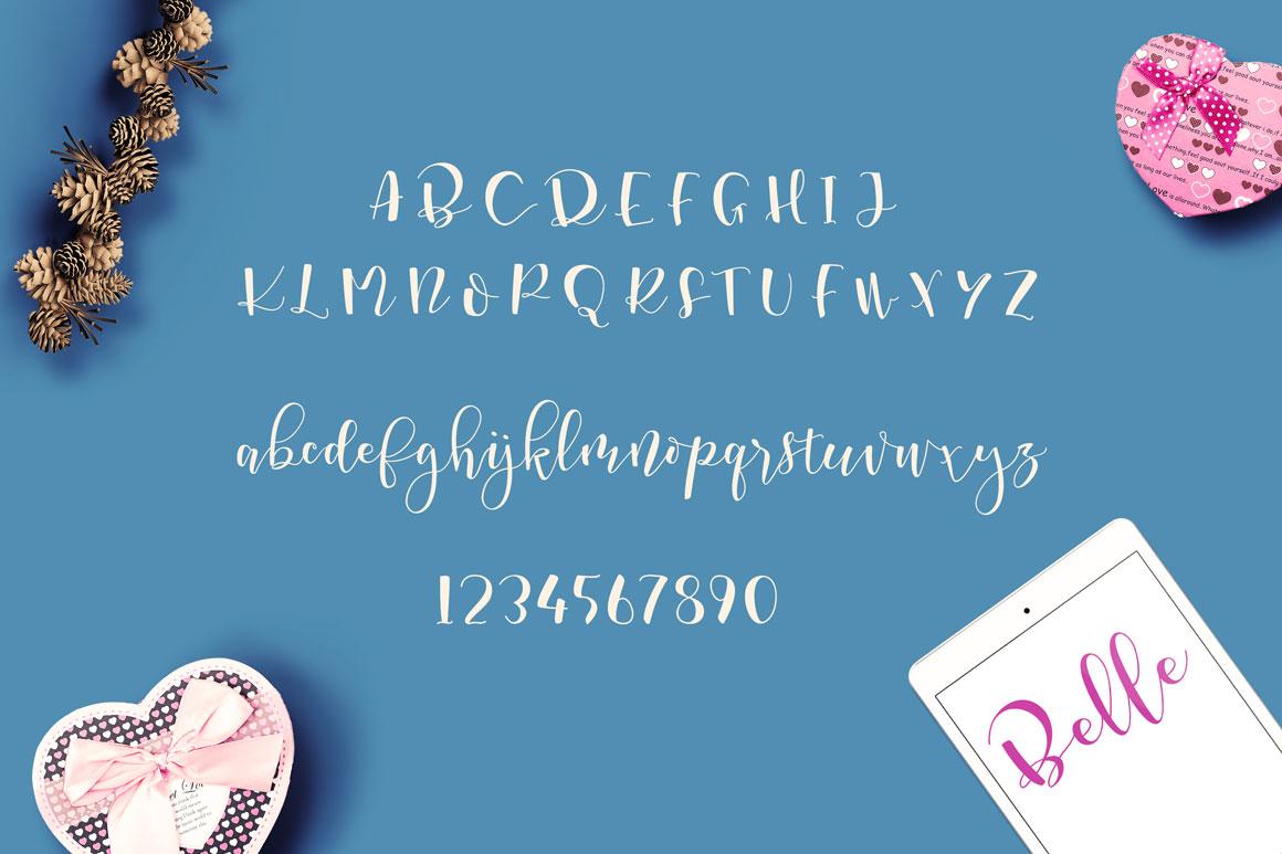font characters