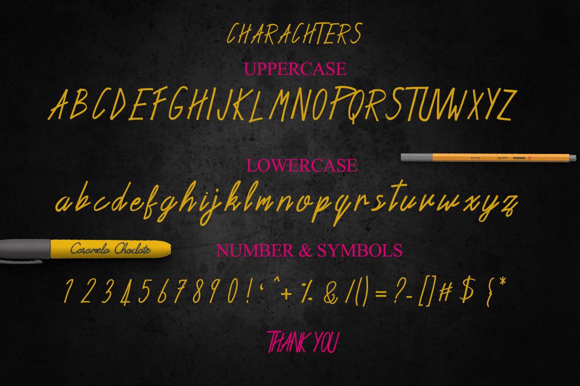 Hemlock Marker Font example image 5