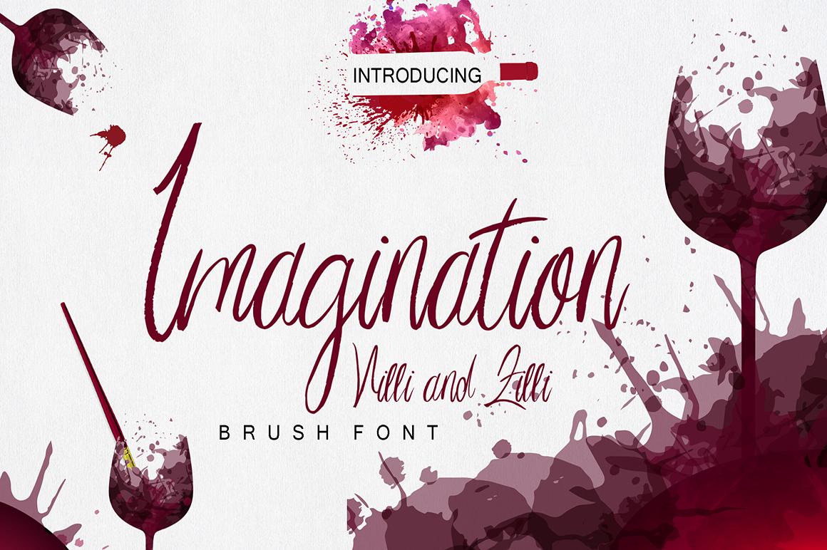 Imagination Script Font example image 1