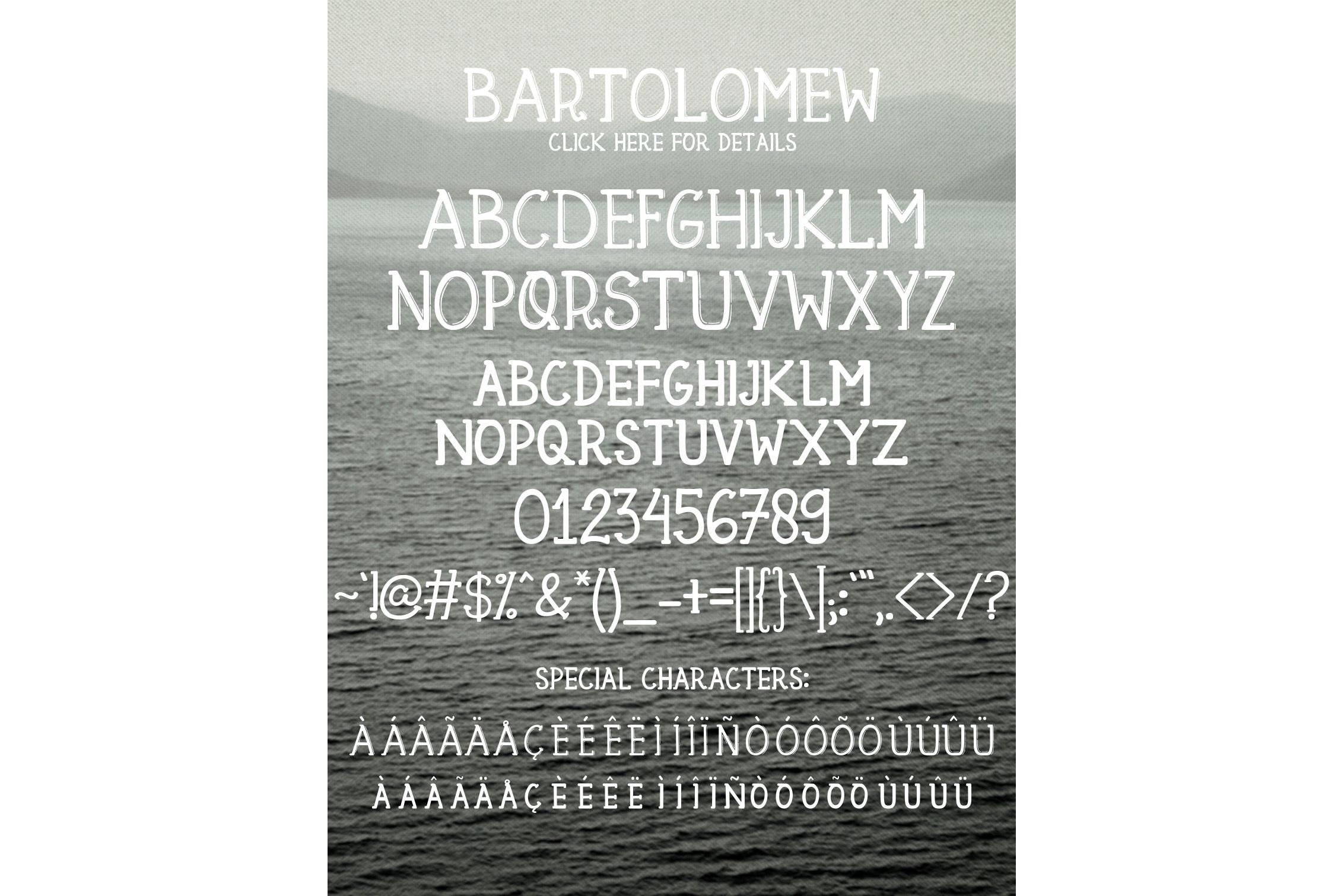 Bartolomew example image 5