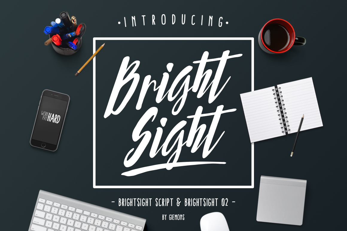 Bright Sight - 2 Fonts example image 1