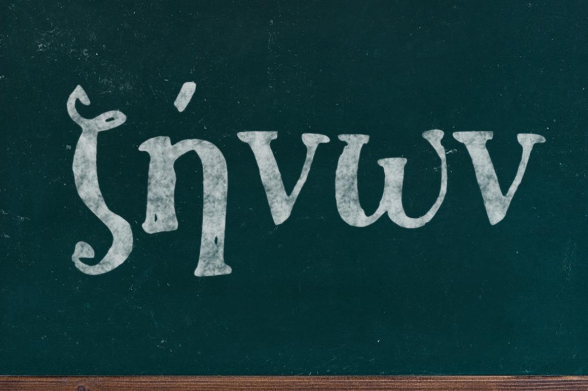 Zinon Handwritten Font example image 2