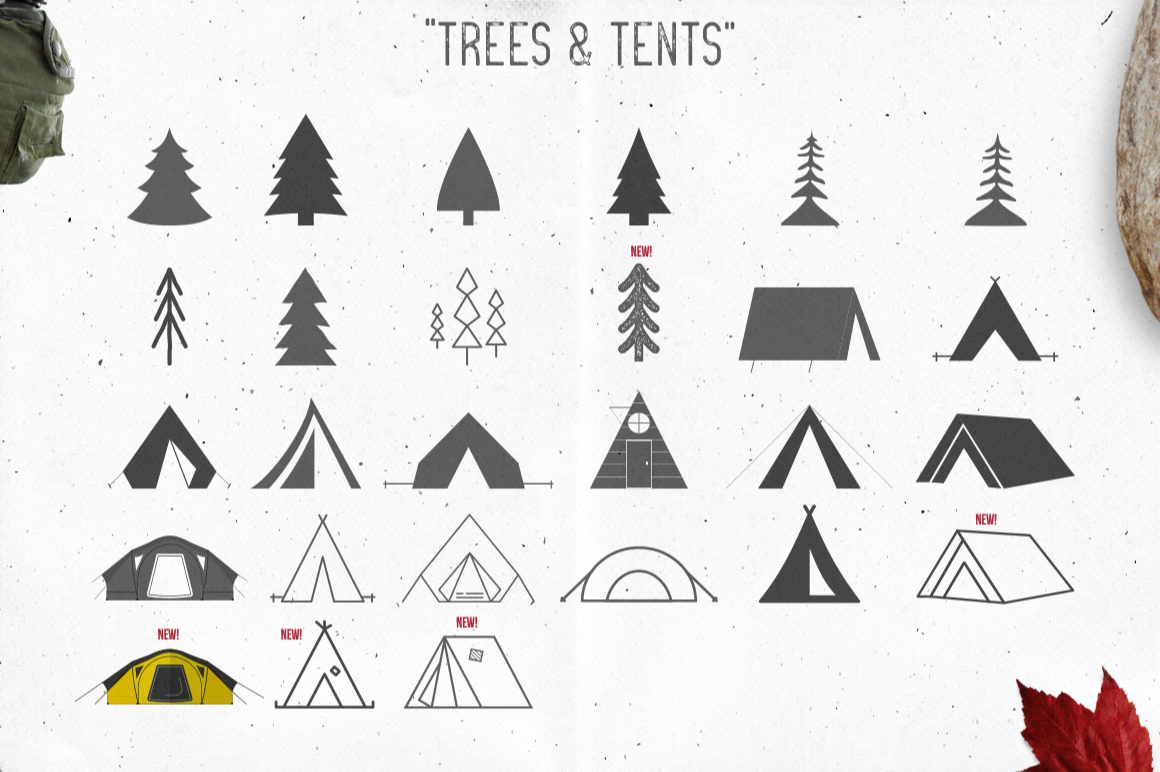 Logo Creation Kit - Camping Edition example image 8