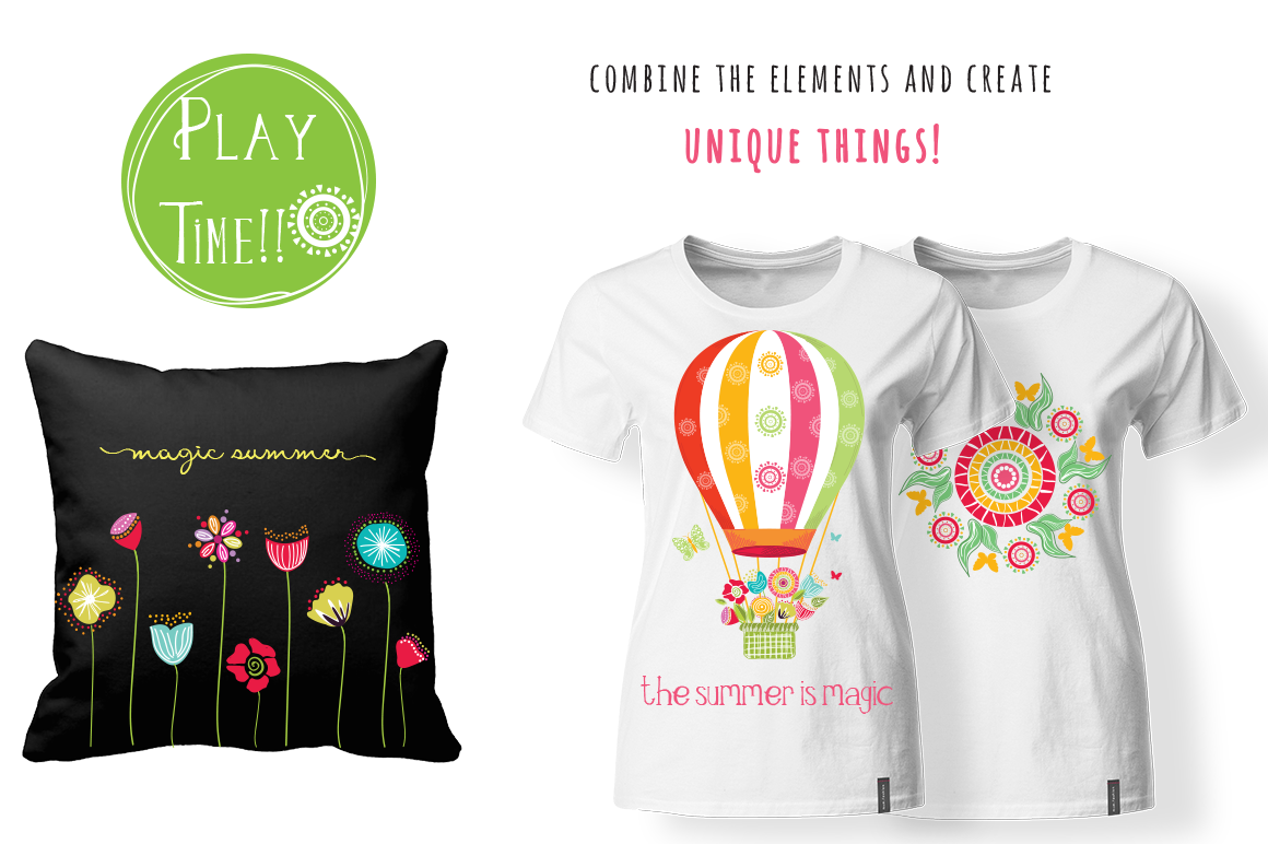 Playful Summer Colorful Bohemian example image 10