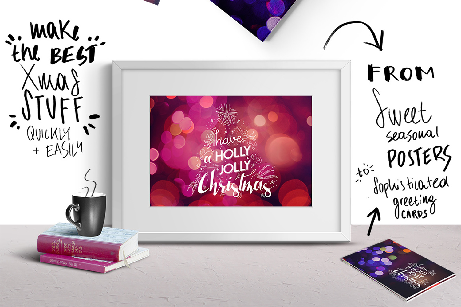 Christmas lights: lettering + more! example image 9