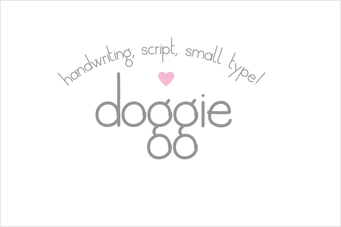 Doggie Font example image 1