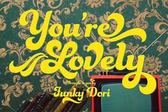 Funkydori Bold example image 24