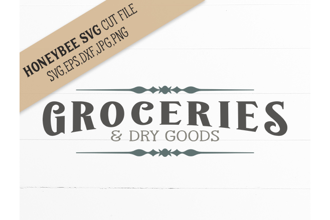 Groceries & Dry Goods example image 1