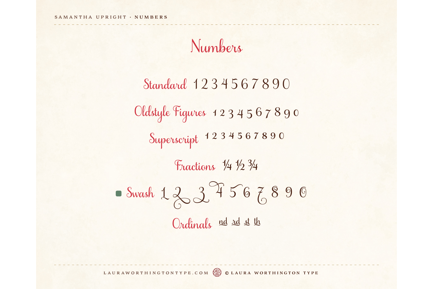 Samantha Script Upright example image 12