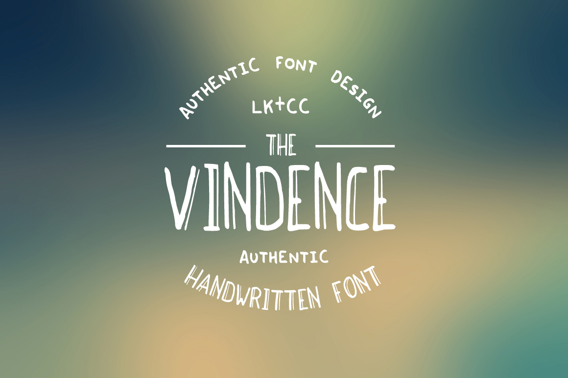 Vindence Handwritten Font example image 1