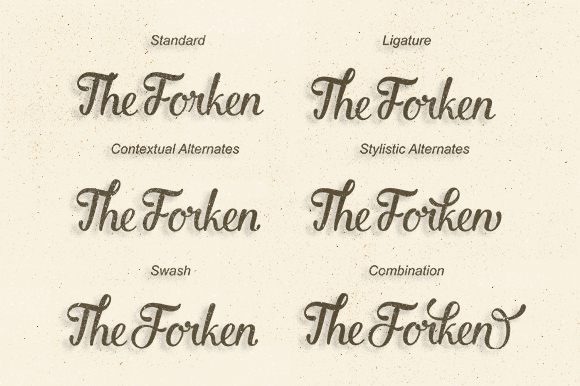 Laskar Script example image 2
