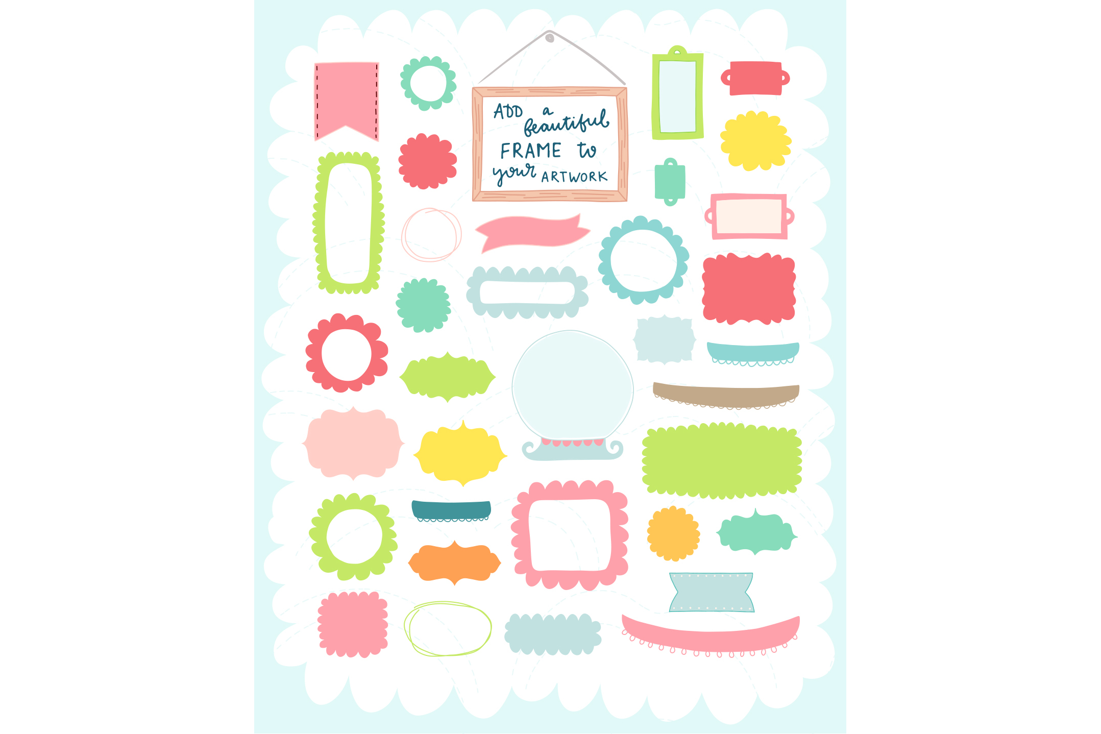 Spring is Here! Graphics & Patterns example image 9