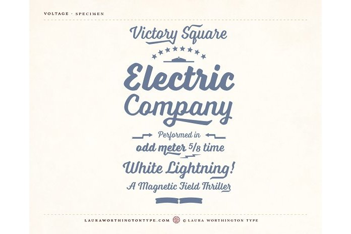 Voltage Family example image 11