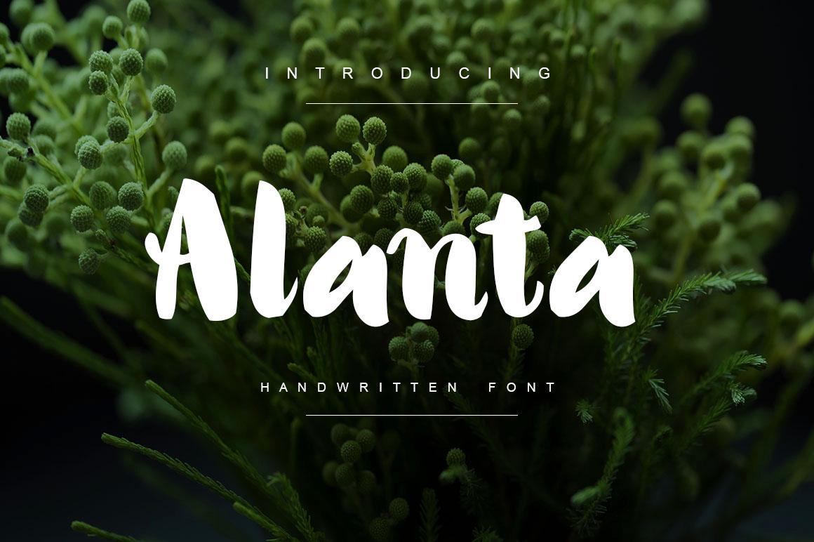 Alanta Bold Handwritten Script example image 1