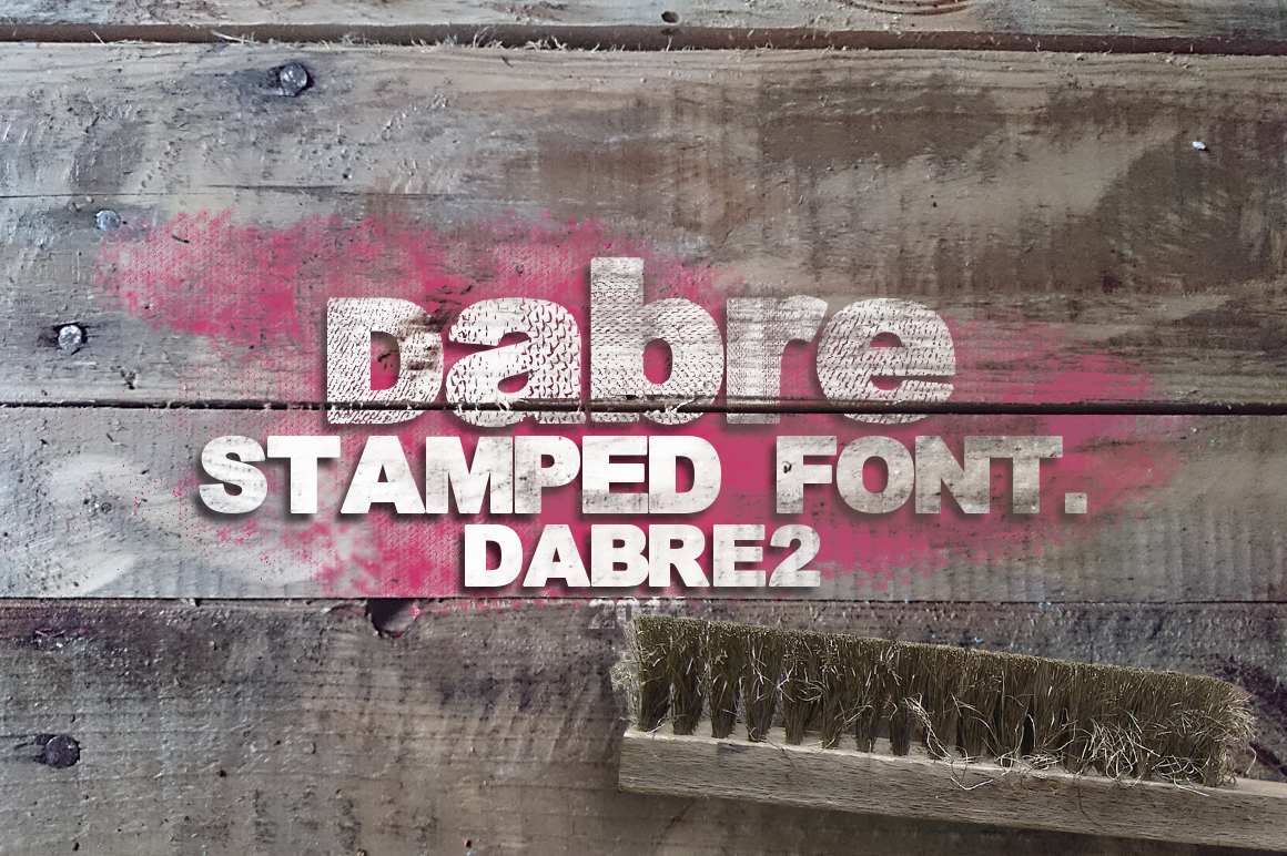 Dabre Font example image 2