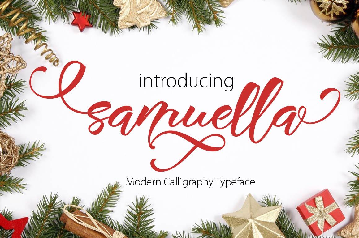 SAMUELLA SCRIPT example image 3