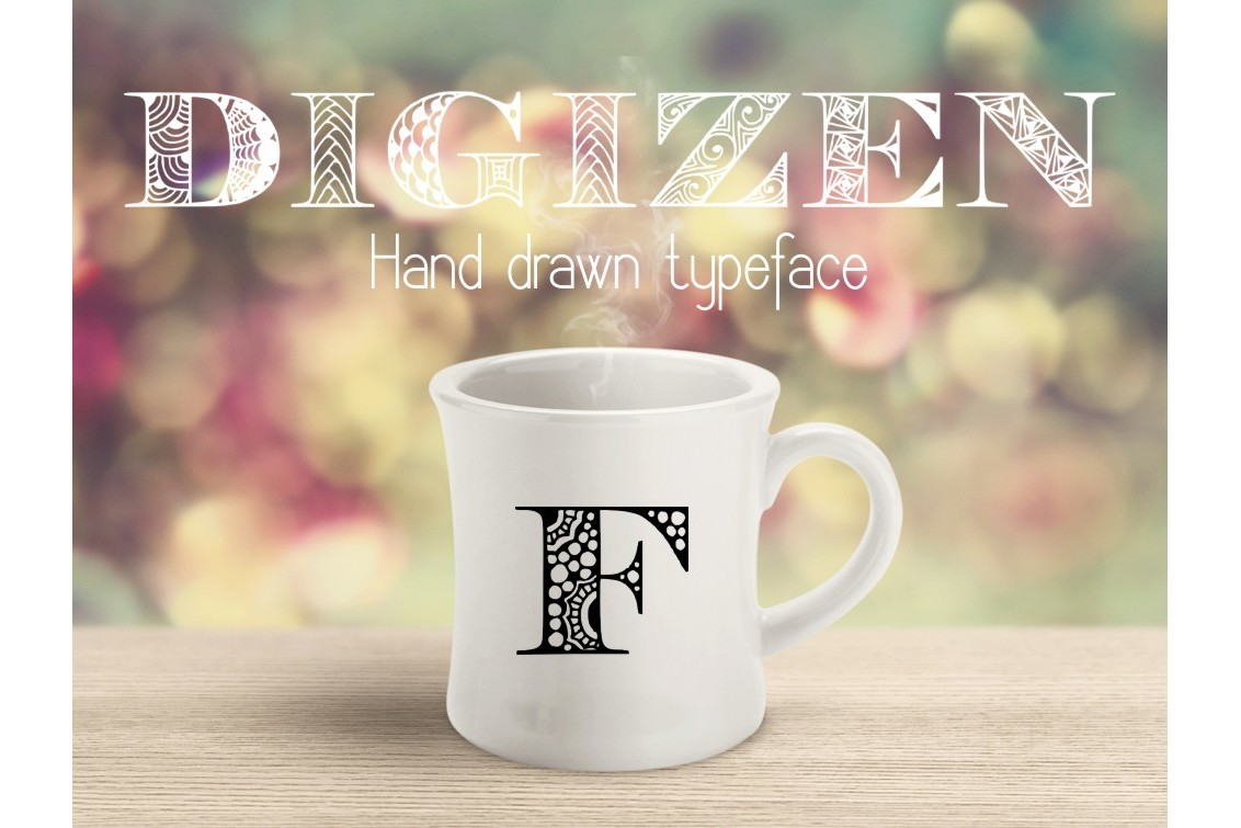 Digizen Font example image 4