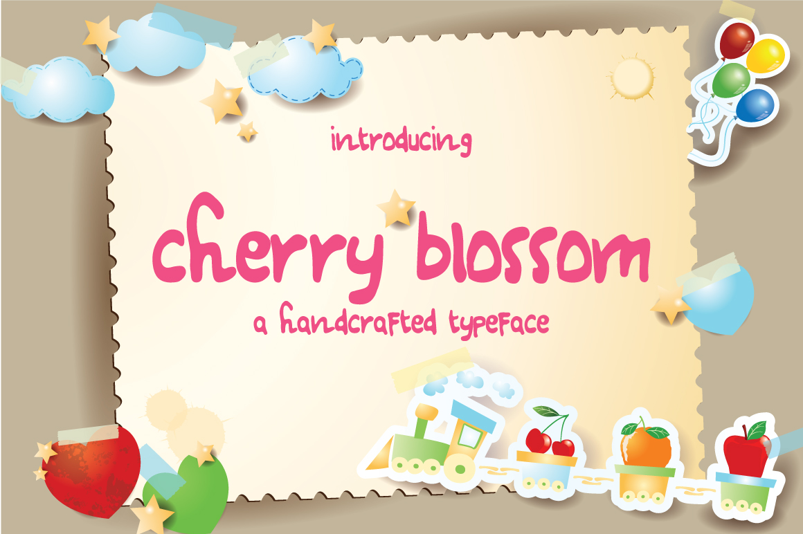 Cherry Blossom Typeface example image 1