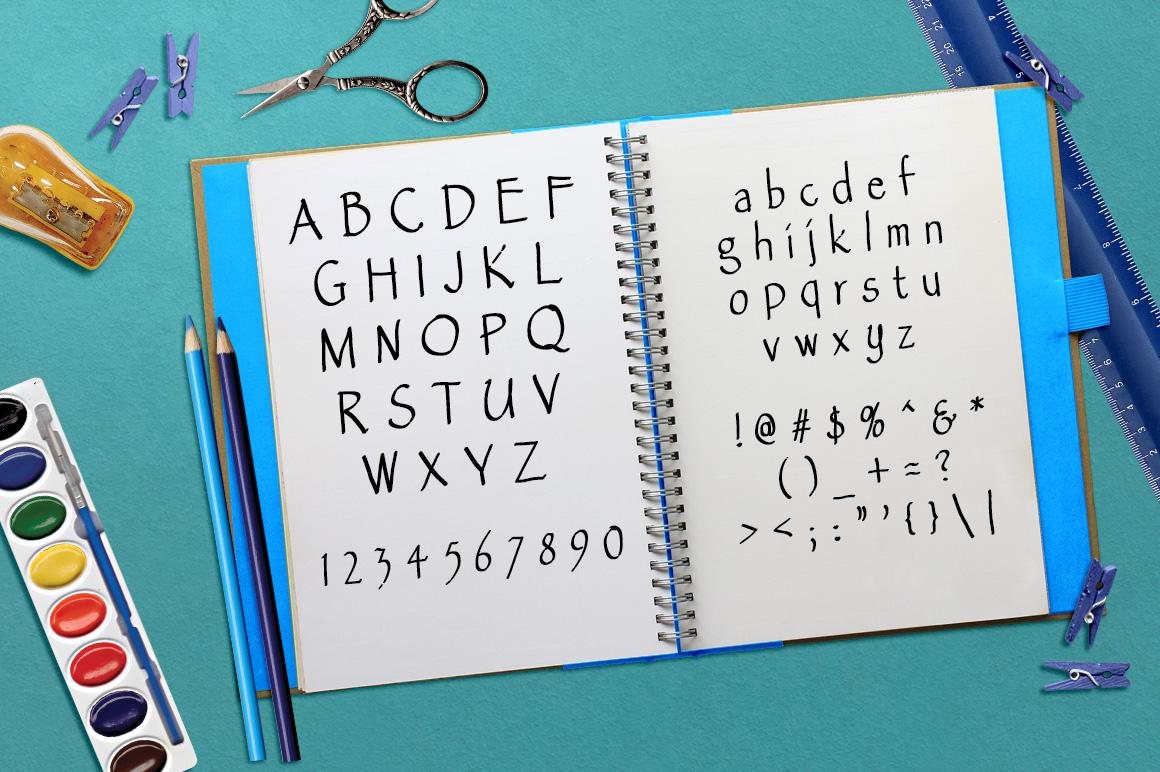 Font No.7, No.8 and No.9 example image 6