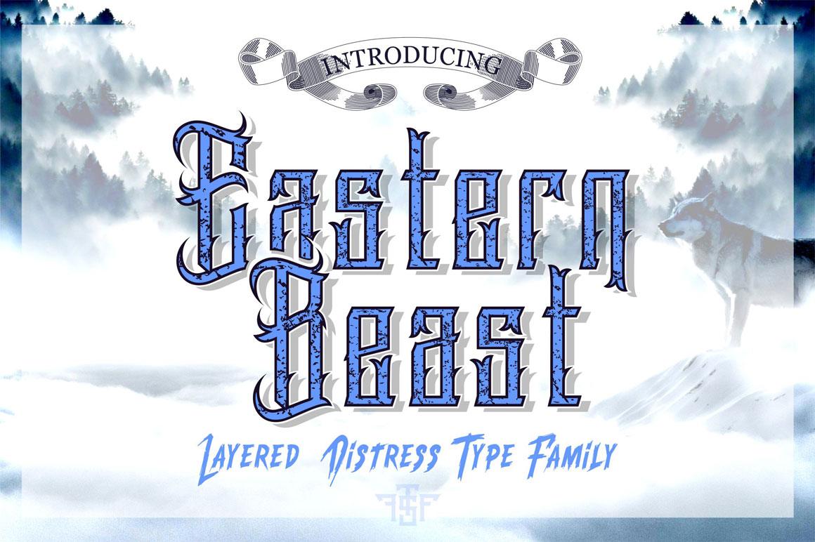 Eastern Beast Typeface example image 1