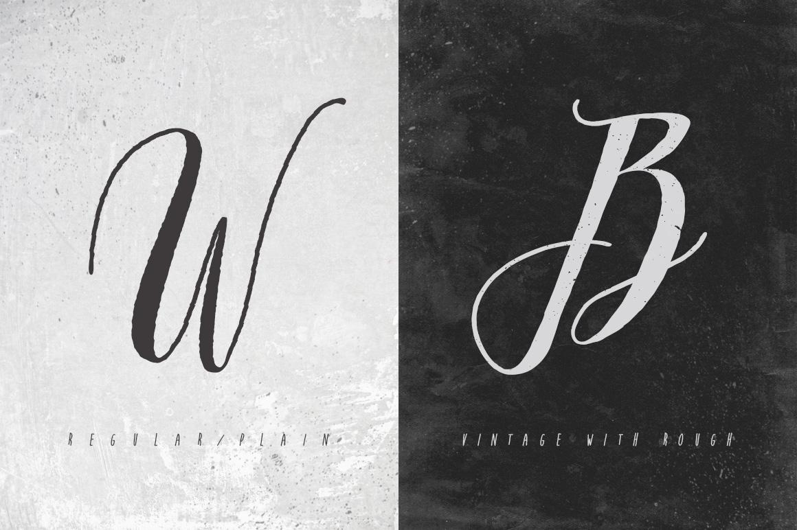 Arkana Script - Vintage Font example image 2