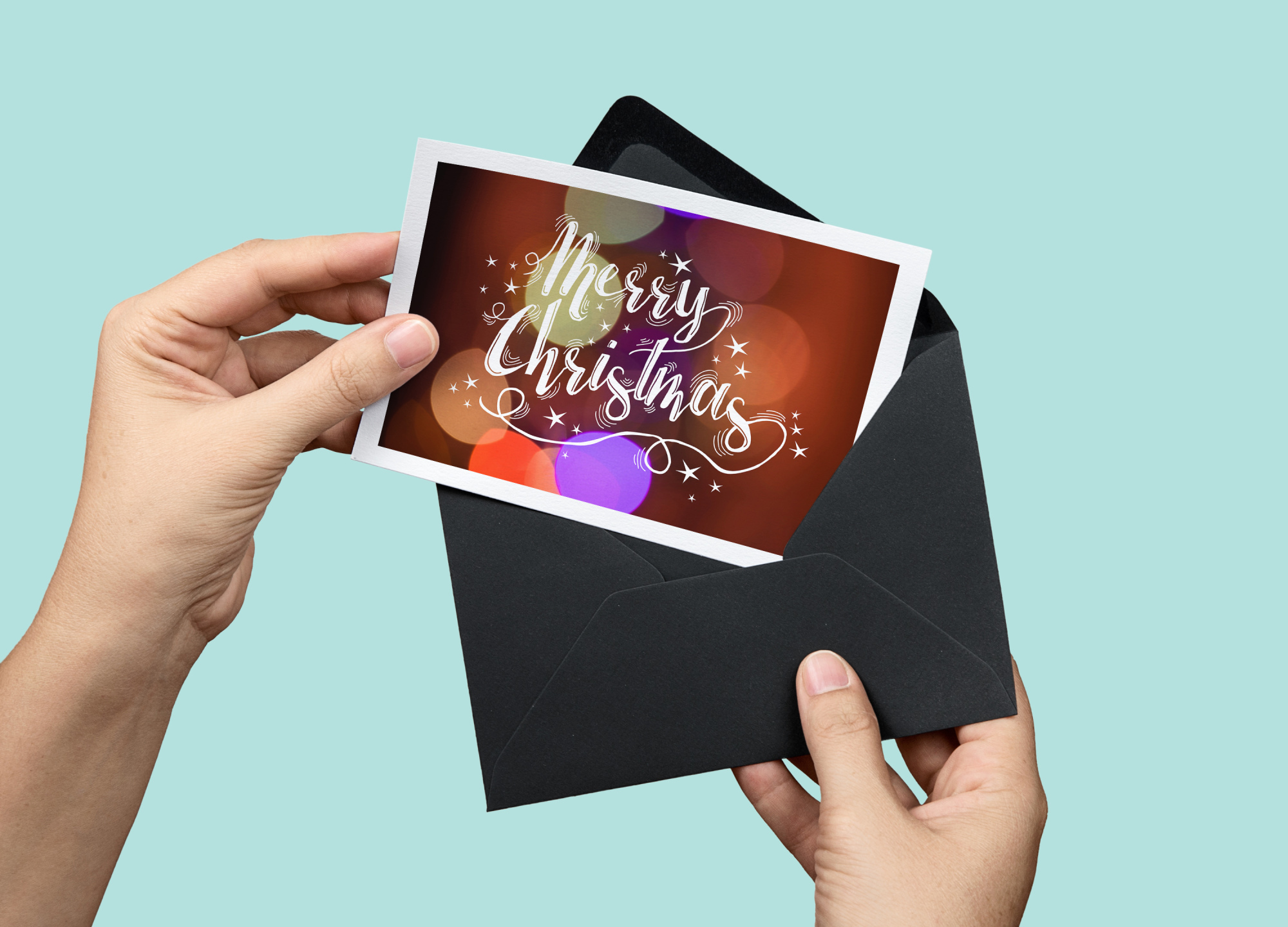 Christmas lights: lettering + more! example image 11