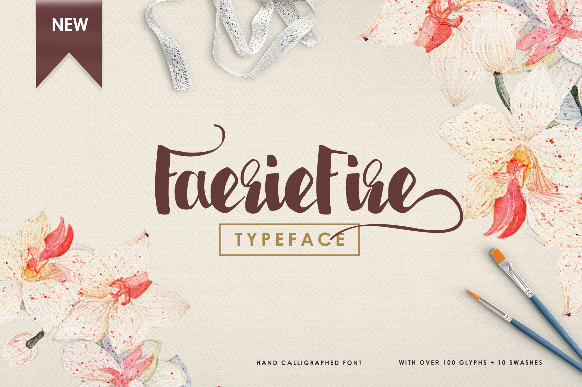 FaerieFire Typeface example image 1