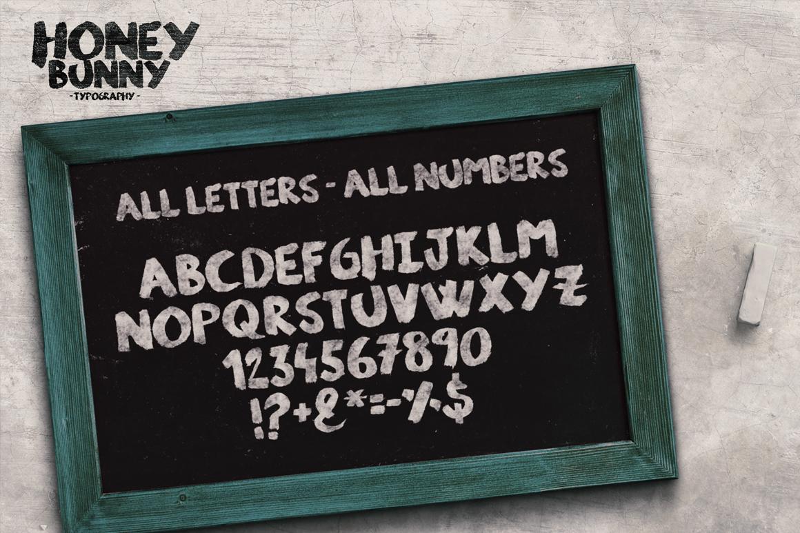 Honey Bunny Script Typeface example image 2