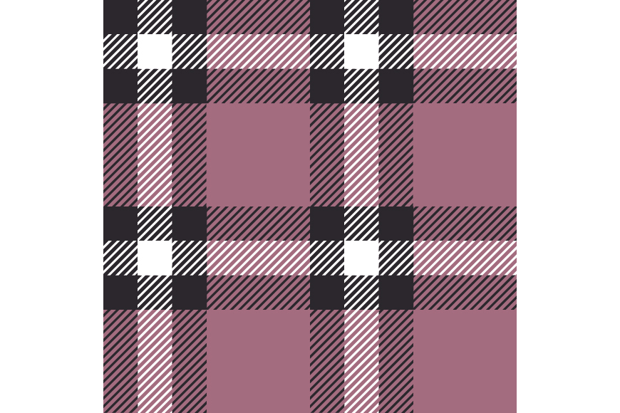Set of 12 seamless vector tartan backgrounds.  example image 13