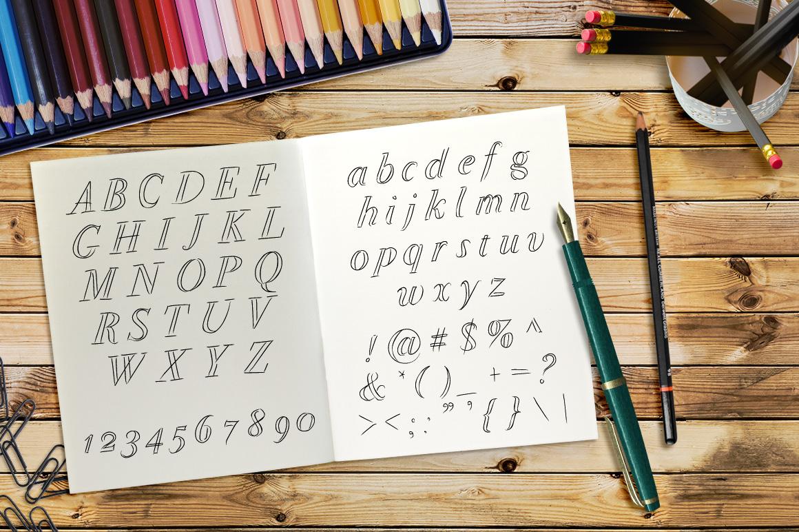 Font No.10, No.11 and No.12 example image 10