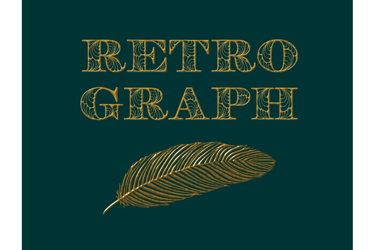 Retroghaph font example image 4