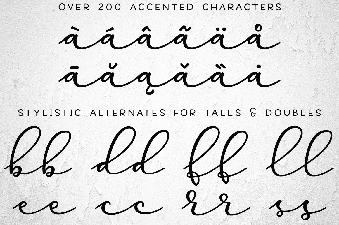 Virga: accents and alternates