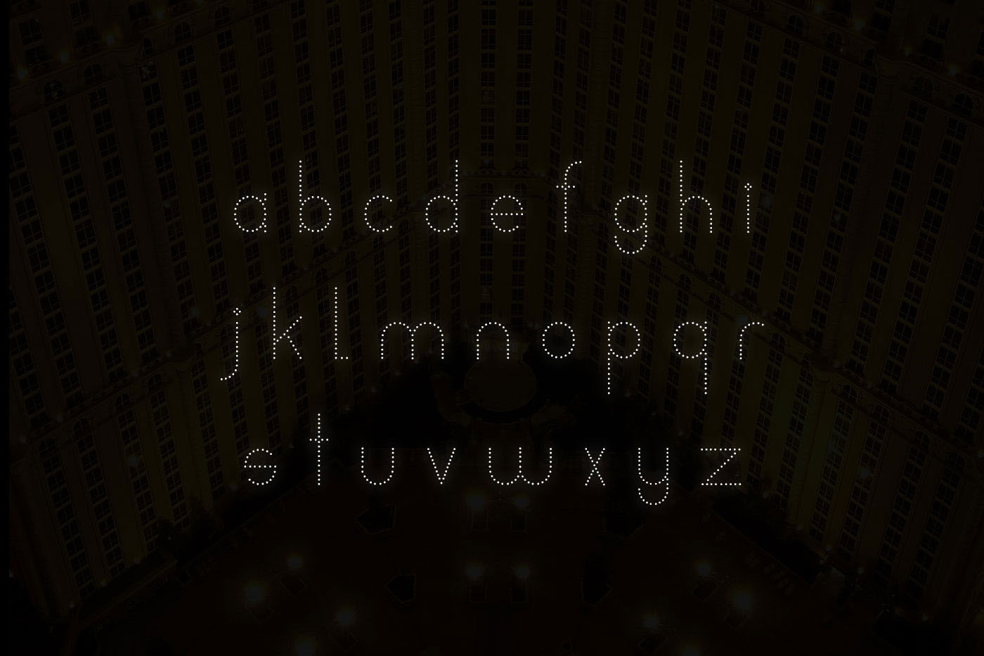 Neons display typeface example image 5